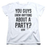 Dazed and Confused Party Time S/S Women's T-Shirt White