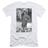 Dazed and Confused Paddle S/S Adult 30/1 T-Shirt White