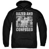 Dazed and Confused Rock On Adult Pullover Hoodie Sweatshirt Black