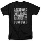 Dazed and Confused Rock On S/S Adult 18/1 T-Shirt Black