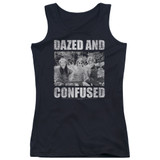 Dazed and Confused Rock On Junior Women's Tank Top Black