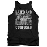 Dazed and Confused Rock On Adult Tank Top Black