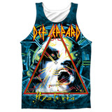 Def Leppard Hysteria Adult Sublimated Tank Top T-Shirt White