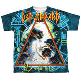 Def Leppard Hysteria Youth Sublimated Crew T-Shirt White