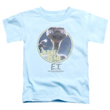 E.T. The Extra Terrestrial Phone Home S/S Toddler T-Shirt Light Blue
