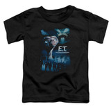 E.T. The Extra Terrestrial Going Home S/S Toddler T-Shirt Black