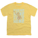 E.T. The Extra Terrestrial Dropped Calls S/S Youth 18/1 T-Shirt Banana