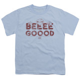 E.T. The Extra Terrestrial Be Good S/S Youth 18/1 T-Shirt Light Blue