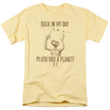 E.T. The Extra Terrestrial In My Day S/S Adult 18/1 T-Shirt Banana