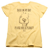 E.T. The Extra Terrestrial In My Day S/S Women's T-Shirt Banana