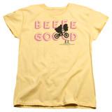 E.T. The Extra Terrestrial Goood S/S Women's T-Shirt Banana