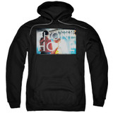 E.T. The Extra Terrestrial Knockout Adult Pullover Hoodie Sweatshirt Black