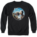 E.T. The Extra Terrestrial Gertie Kisses Adult Crewneck Sweatshirt Black