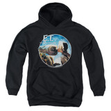 E.T. The Extra Terrestrial Gertie Kisses Youth Pullover Hoodie Sweatshirt Black