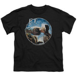 E.T. The Extra Terrestrial Gertie Kisses S/S Youth 18/1 T-Shirt Black
