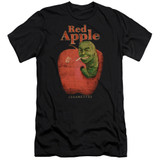 Pulp Fiction Red Apple Premium S/S Adult 30/1 T-Shirt Black