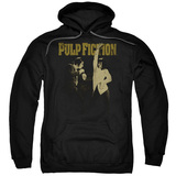 Pulp Fiction I Wanna Dance Adult Pullover Hoodie Sweatshirt Black