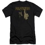 Pulp Fiction I Wanna Dance Premium S/S Adult 30/1 T-Shirt Black