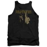 Pulp Fiction I Wanna Dance Adult Tank Top Black