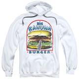 Pulp Fiction Big Kahuna Burger Adult Pullover Hoodie Sweatshirt White