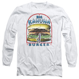 Pulp Fiction Big Kahuna Burger Long Sleeve Adult 18/1 T-Shirt White