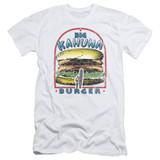 Pulp Fiction Big Kahuna Burger S/S Adult 30/1 T-Shirt White