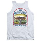 Pulp Fiction Big Kahuna Burger Adult Tank Top White