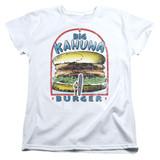 Pulp Fiction Big Kahuna Burger S/S Women's T-Shirt White