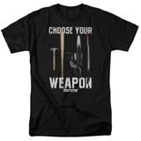 Pulp Fiction Choices S/S Adult 18/1 T-Shirt Black