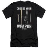 Pulp Fiction Choices S/S Adult 30/1 T-Shirt Black