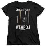 Pulp Fiction Choices S/S Women's T-Shirt Black