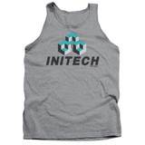 Office Space Initech Logo Adult Tank Top Athletic Heather
