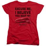 Office Space Stapler S/S Women's T-Shirt Red