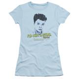 Sixteen Candles Stud S/S Junior Women's T-Shirt Sheer Light Blue