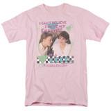 Sixteen Candles Panties S/S Adult 18/1 T-Shirt Pink