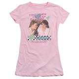 Sixteen Candles Panties S/S Junior Women's T-Shirt Sheer Pink