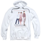 Sixteen Candles Poster Adult Pullover Hoodie Sweatshirt White