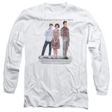 Sixteen Candles Poster Long Sleeve Adult 18/1 T-Shirt White