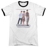 Sixteen Candles Poster Adult Ringer T-Shirt White/Black