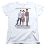Sixteen Candles Poster S/S Women's T-Shirt White