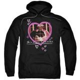 Sixteen Candles Candles Adult Pullover Hoodie Sweatshirt Black