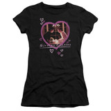 Sixteen Candles Candles S/S Junior Women's T-Shirt Sheer Black