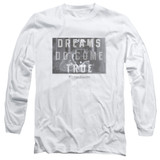 Sixteen Candles Dreamers Long Sleeve Adult 18/1 T-Shirt White