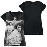 Elvis Presley Legendary Performance Junior Women's Sublimated T-Shirt White