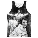 Elvis Presley Legendary Performance Adult Sublimated Tank Top T-Shirt White