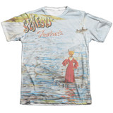 Genesis Foxtrot Cover Adult Sublimated T-Shirt White