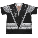 Kiss Spaceman Costume Youth Sublimated Crew T-Shirt White