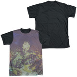 Syd Barrett Pink Floyd Title Adult Sublimated T-Shirt White/Black
