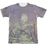 Syd Barrett Pink Floyd Title Adult Sublimated T-Shirt White