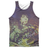 Syd Barrett Pink Floyd Title Adult Sublimated Tank Top T-Shirt White